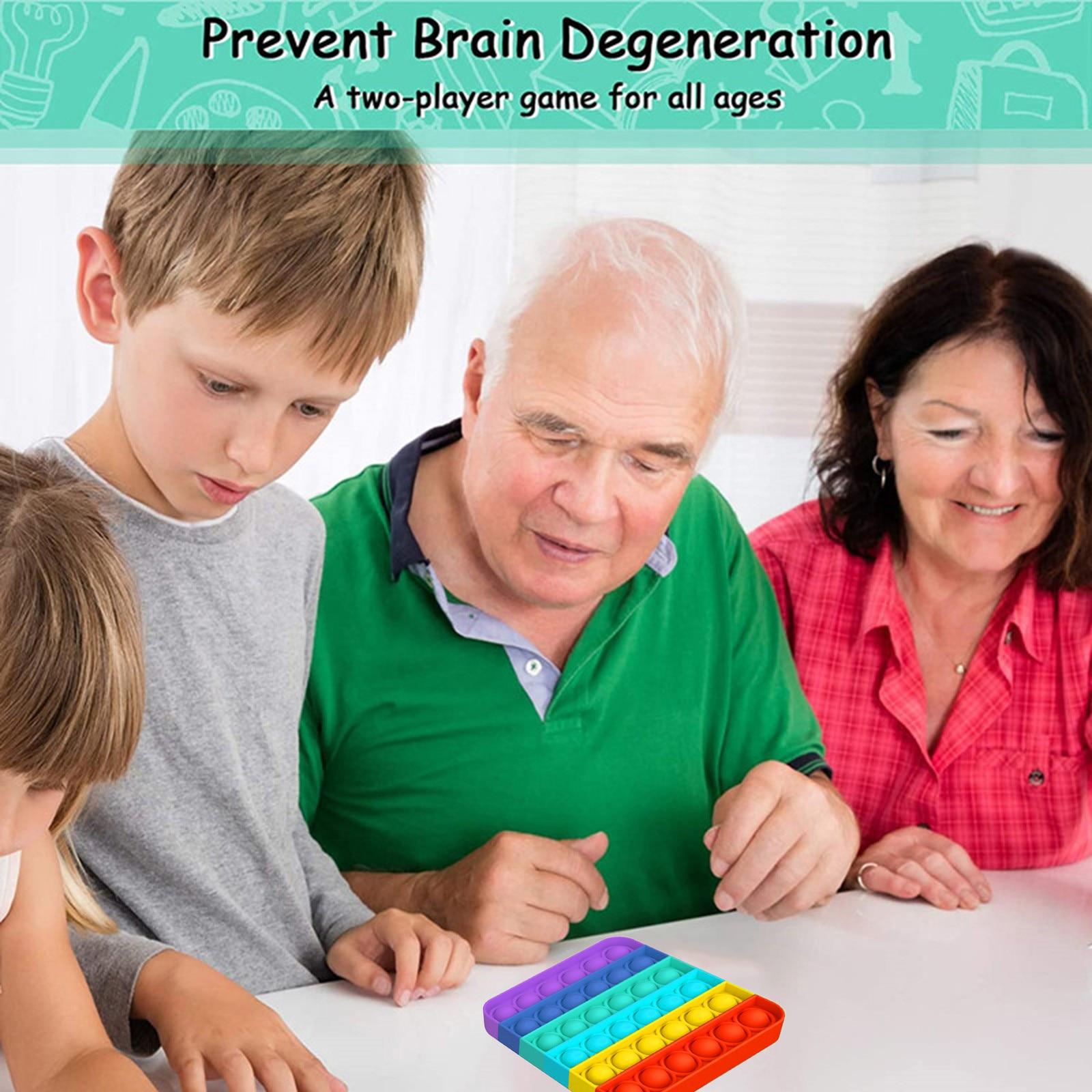 Toy Fidget-Toys Sensory-Toy Autism Needs-Stress Push Bubble Reliever Popit Special Kids img3