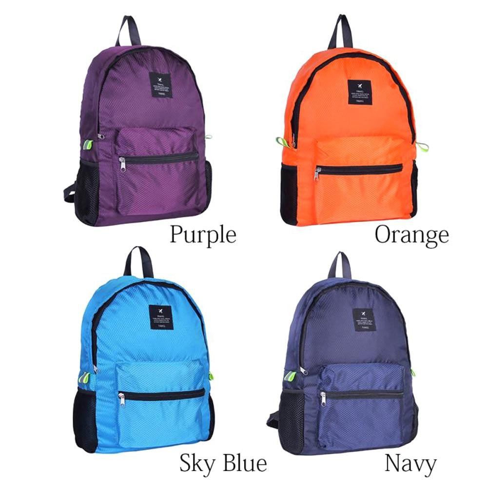 Легкий нейлон складной рюкзак водонепроницаемый рюкзак складной сумка портативный мужской женский рюкзак для путешествий