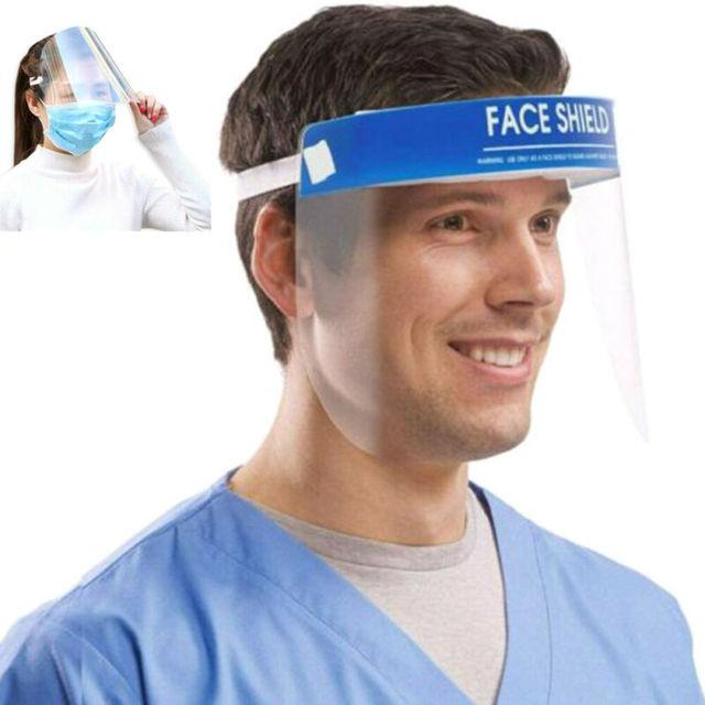 Anti Saliva UV Hat Full Face Shield Masks Epidemic Protection Hat Clear Anti-fog Windproof Isolation Visors Hats 1