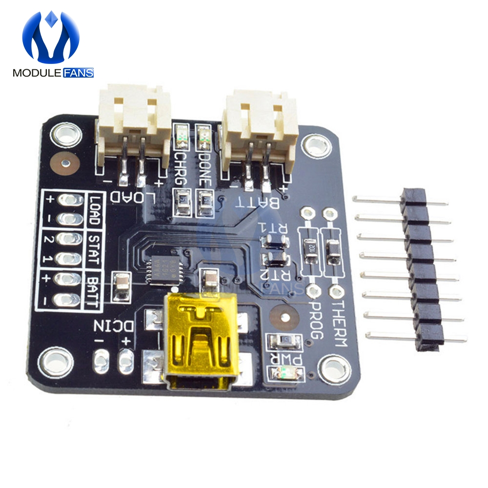 MCP73833 5V USB Lithium Ion Battery Charger Chraging Board LiIon LiPoly 3.7//4.2V