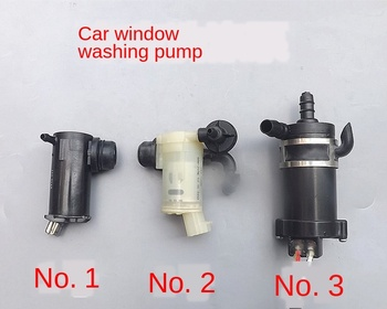 Car Window Pump Lights Washer Pump Water Pump Electric Windows Pump Headlight Washer Pump image