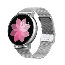 Relógio inteligente feminino multi modo esportivo smartwatch com monitor de freqüência cardíaca pressão arterial oxigênio remoto música para ios android vs s20