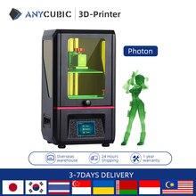 ANYCUBIC Photon SLA 3d 프린터, 405nm 수지 UV LED 컬러 TFT 터치 스크린 3d 프린터 키트 impresora 3d drucker imprimante 3d