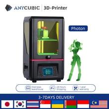 ANYCUBIC الفوتون SLA طابعة ثلاثية الأبعاد مع 40nm الراتنج الأشعة فوق البنفسجية LED اللون شاشات تعمل باللمس TFT ثلاثية الأبعاد مجموعة الطابعة impresora ثلاثية الأبعاد drucker imprimante ثلاثية الأبعاد