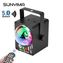 SUNYIMA Disco High Power Bluetooth5.0 Музыка С динамиком RGB Красочный Сцена Огни Для Вечеринки Рождества Свадьбы