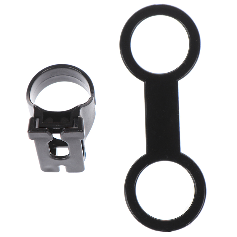 Plastic Clip Snorkel Keeper Retainer Replacement For Attaching Mask Strap Scuba Diving Snorkeling Equipment 25mm