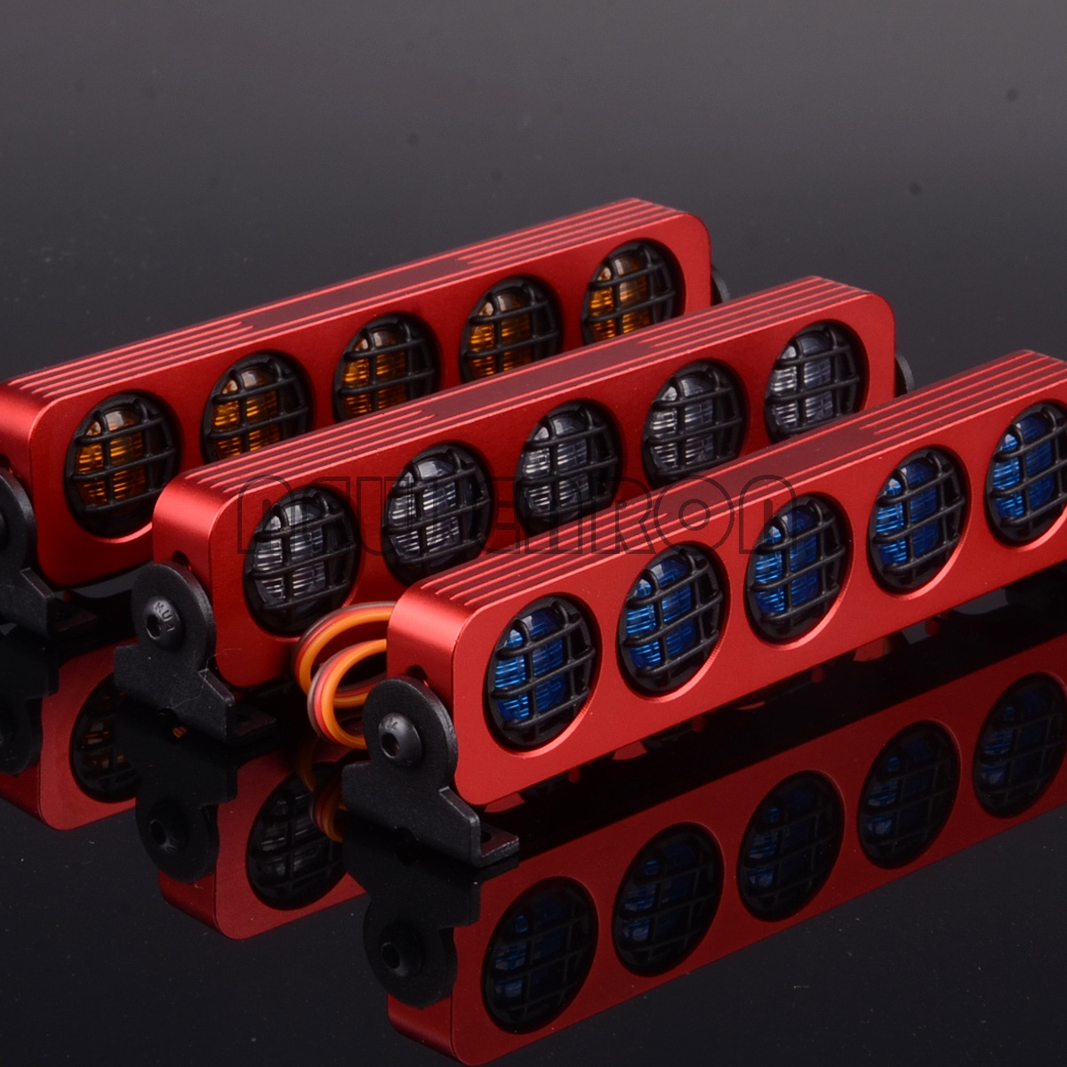 NEW ENRON Multi Function Ultra LED Light Bar 5 Modes RC 1/10 1/8 For D90 SXC10 4WD AX-509 1:10
