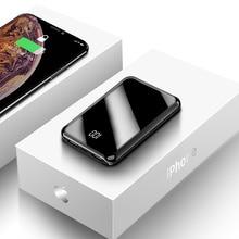 ROCK Min Power Bank 10000mAh For Xiaomi mi iPhone 11 Huawei