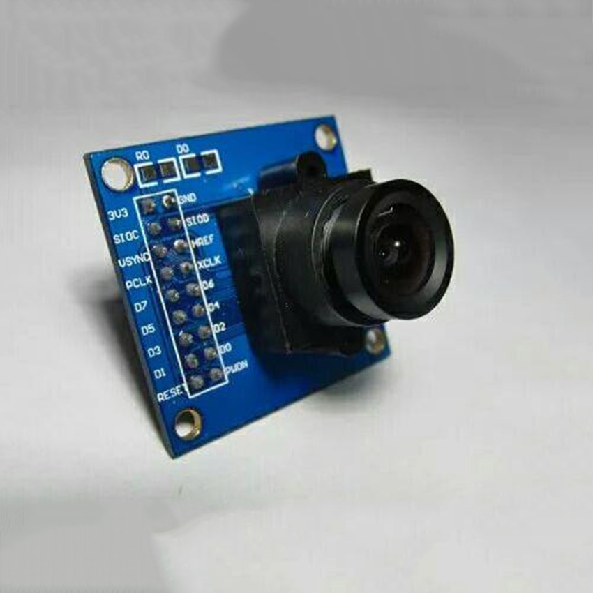 OV7670 Electronic Capture Camera Module, STM32 One-chip Computer, Supports VGA CIF Auto Exposure Control