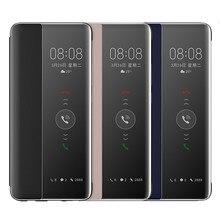 Dla Huawei P30 P40 Pro obudowa lustro inteligentny widok obudź snu pokrywa dla Huawei Mate 40 30 20 Pro Plus P20 Pro skórzane etui z klapką