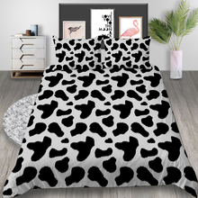 Thumbedding Cow Pattern Bedding Set Queen Size Funny Classic Duvet Cover King Fashion Twin Single Double Unique Design Bed Set