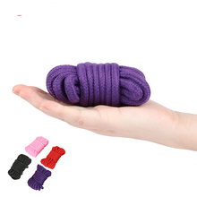 4 Colors BDSM Bondage Ropes Flirting Tied Rope SM Slave Bondage Fixed Body Rope Adult Products Sex Toys For Women Couples 5m