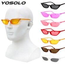 YOSOLO, мотоциклетные очки, для езды, для вождения, защитные очки, Ретро стиль, маленькая оправа, очки, Ретро стиль, кошачий глаз, солнцезащитные очки, UV400