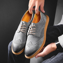 Large Size 38-48 Men Brogue Shoes Genuine Leather Male Oxfords Sneakers Italian Luxury Vintage Lace-up Men's Brogue Shoes Oxford sipriks luxury patina leather dress shoes for men vintage business offfice shoes boss work shoes male brogue oxfords shoes new