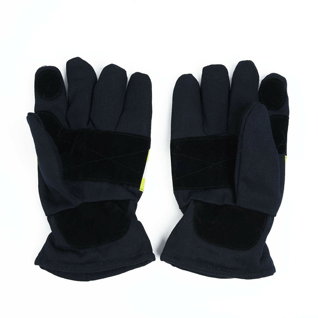 New 1 Pair Fire Proof Non-slip Anti-fire Gloves Heat Proof Firefighting Gloves Anti-static Heat-resistant Gloves for Firefighter