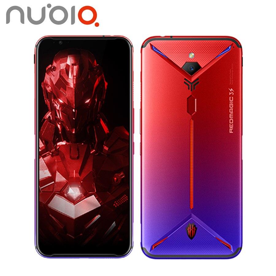 """Versión UE ZTE Nubia magia roja, 3s juegos de teléfono móvil 48MP 8GB 128 GB/256GB Snapdragon855 + 6,65 """"1080x2340P Android 9,0 Smartphone"""