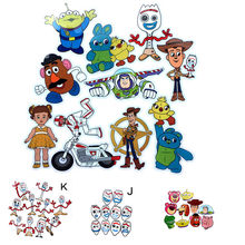 10pcs Movie TS4 Forky Alien Woody Waterproof Stickers Car Motorcycle Luggage Laptop Bike Scooter Cartoon DIY Decals Gift(China)