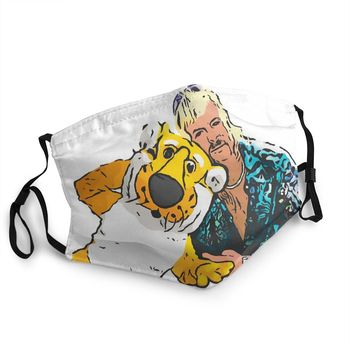 Joe Exotic Tiger King Veterinary Reusable Face Mask Documentary Anti Haze Anti Dust Protection Cover Respirator Mouth Muffle image