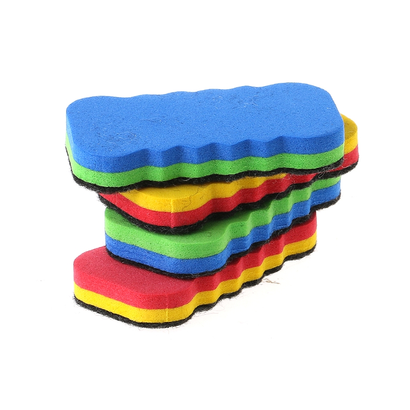 1 PC Colorful Whiteboard Eraser For Dry Board Multi Color Office School Supply R9UA