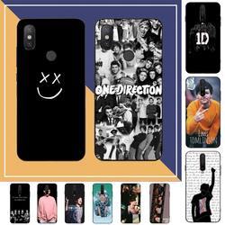 TOPLBPCS One Direction Louis Tomlinson Phone Case for RedMi note 7 8 9 6 5 4 X pro 8T 5A