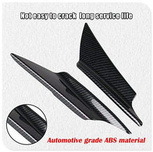 Car Body Modification Bumper Wind Knife Carbon Fiber Spoiler for Ford Transit Ranger Mustang Ka Fusion Focus F-150(China)