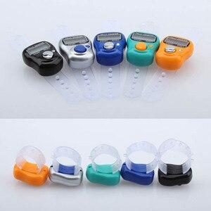 Электронный цифровой счетчик LCD Портативный ручной подсчет для кухни случайный цвет PI669