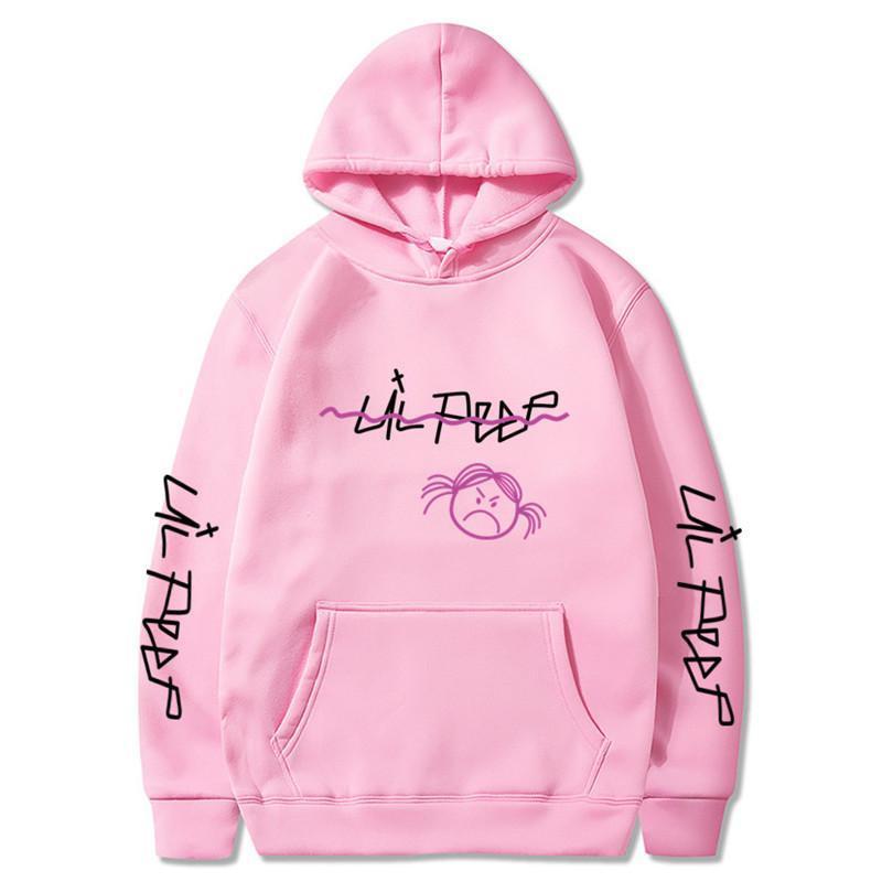 Lil Peep Hoodies Love Lil Peep Men Hoodies Pullover Sweatshirts Male / Female Hoodies Crybaby Streetwear Men's Hoodie