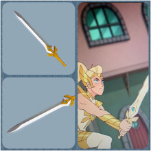 She-Ra Cosplay Sword Replica Costume Prop from Season 5