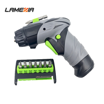 Battery Dry Electric Screwdriver Set Cordless Professional Torque Screw Driver Drill Power Tool lodestar professional ceramic screw driver ph1 5 x 22mm