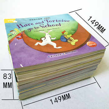 42 Volumes of Enlightenment Textbooks for Young English Level for Children with Primary Education Coloring Books for Kids Book
