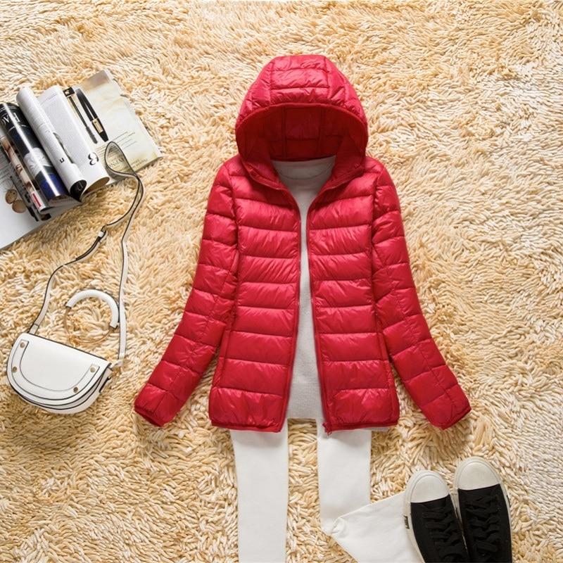 Ultra Light Down Jacket Women Plus Size Korean Winter Coat Women Parkas Mujer 2020 Jackets Casacas Para Mujer KJ342