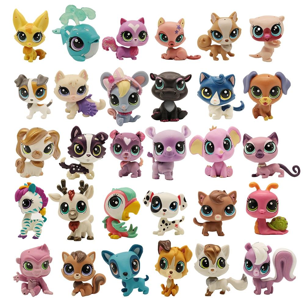 Купить 5 получить 2 подарка 4-5 см свободные старые игрушки для питомцев кошка щенок фигурка мини игрушка Фигурки Классические Игрушки для ма...