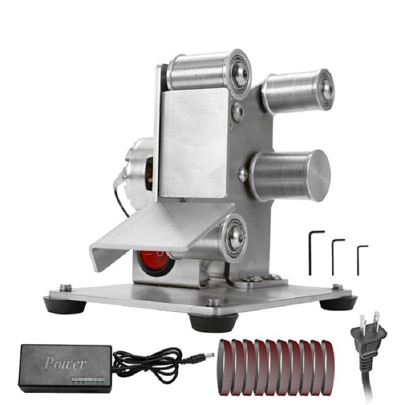 Profissional multifuncional Moedor Mini Portátil Lixadeira Elétrica DIY Apontador de Polimento Máquina De Moer Arestas de Corte