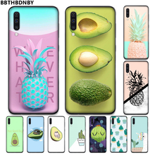 Nanas Kaktus Alpukat DIY Phone Case Cover Shell UNTUK Samsung A20 A30 30 S A40 A7 2018 J2 J7 Perdana j4 Plus S5 Catatan 9 10 Plus(China)