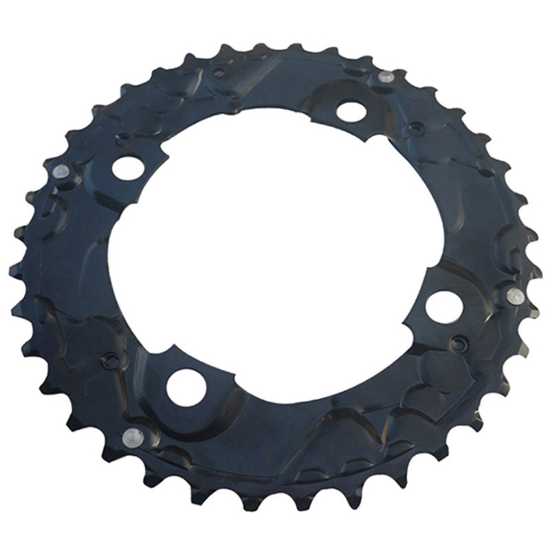 38T Bike Wheel MTB Mountain Bicycle Repair Disc Sprocket for Shimano Double Piece Crankset 10/11 Speed|Bicycle Frame| |  - title=