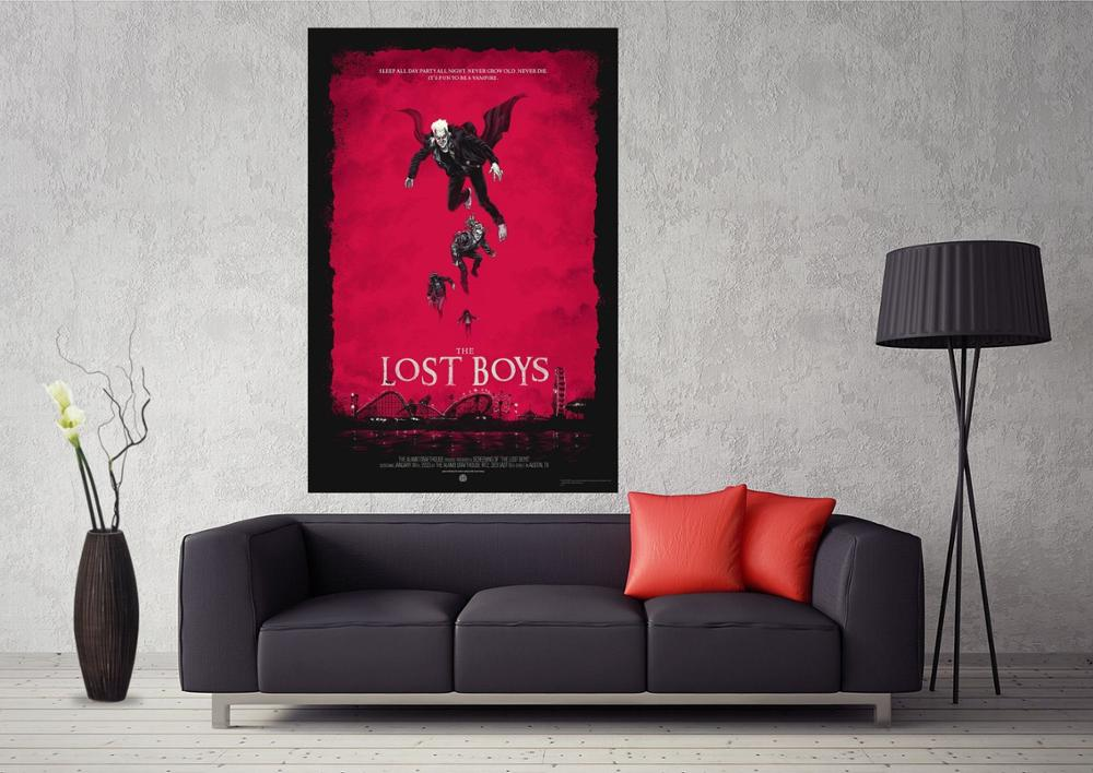 Movie Art Silk Poster 13x20 32x48 inches 1987 The Lost Boys