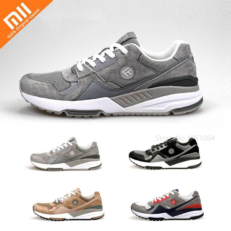 Xiaomi FREETIE 90 Retro Sports Shoes Men's Casual Running Shoes Breathable Wear-Resistant Sneakers Shock Elasticity Shoes