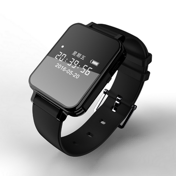 Vandlion Digital Audio Recorder Watch Voice Activated Recording Wrist Band 1536kbps Dictaphone OLED Screen Recorder Business V81