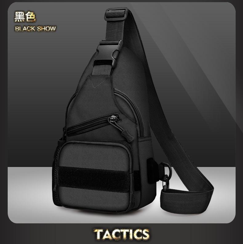 exército tático estilingue mochila acampamento caminhadas camuflagem peito saco do mensageiro caça