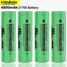 LiitoKala – batterie Rechargeable li-lon, 2021, Lii-48S V, 3.7, 21700 mAh, puissance 9,6a, décharge 2C, ternaire, lithium, nouveau, 4800
