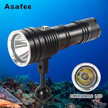 1000LM New Led professional scuba diving Flashlight L2 LED Waterproof Flashlight Underwater 50M Rechargeable LED TORCH Light