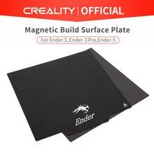 Créalité 3D Original flexible magnétique construire Surface plaque tampons Ender 3/Ender 3 Pro/Ender 5 pièces de lit chauffant pour MK2 MK3 lit chaud