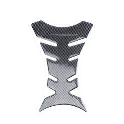 Универсальный 3D углеродное волокно защитная накладка на бак мотоцикла Наклейка рыбья кость Стиль Мотоцикл масляный бак наклейки для Kawasaki ...