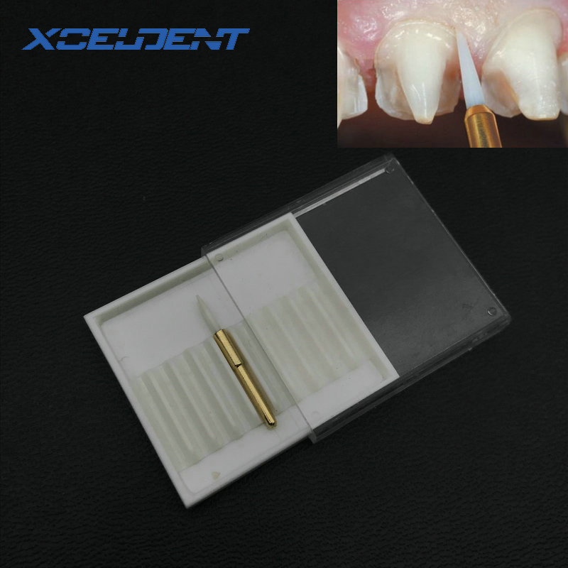 1 Pc Teeth Whitening Dental Surgical Dental Ceramic Soft Tissue Trimmer /Trimming Dental Implant Tool 21mm/23mm