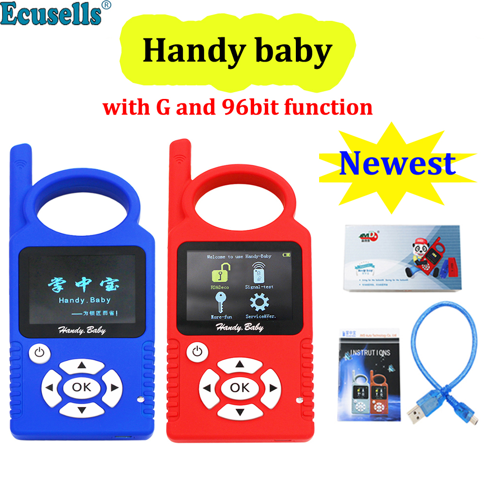 JMD Handy Baby Auto Key Tool for 4D 46 48 G King Chip Programmer CBAY Chips Copier with G 96 Bit 48