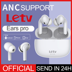 Letv Ears pro ANC Active Noise Cancellation Earphone Wireless Charging Headphone Bluetooth 5.0 TWS Touch Control Headset Mic