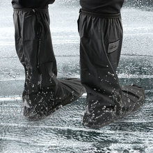 Per il giorno delle nevi di pioggia copriscarpe antiscivolo 1 paio impermeabile moto Scooter bici scarpe da pioggia copertura scarpe Unisex protezioni