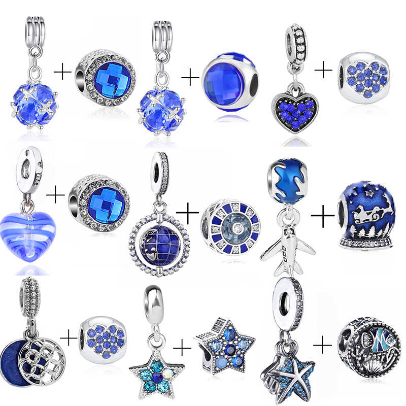lot princess Charm Necklace Bracelet Earrings Pendants Key DIY