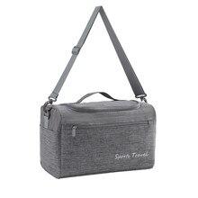 Masculino ombro bussiness bolsa de viagem feminino separação seca e molhada duffle bolsa fim de semana durante a noite tote bagagem de mão portátil item