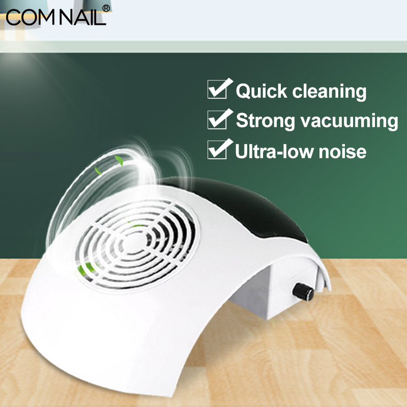 Newest 80W Nail Dust Collector Strong Fan Vacuum Cleaner Manicure Machine Tools Dust Collecting Bag Nail Art Manicure Salon Tool